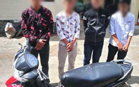 Bắt nhóm thiếu niên thực hiện trót lọt 12 vụ trộm xe máy