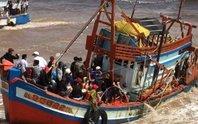 Trắng đêm tìm người mất tích vụ chìm tàu ở Bạc Liêu