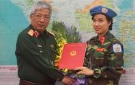 Nữ sĩ quan đầu tiên làm nhiệm vụ gìn giữ hòa bình LHQ