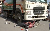 Xe rác tông  2 phụ nữ và 1 trẻ em trọng thương