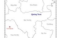 Động đất liên tục kèm tiếng nổ lớn ở Quảng Nam