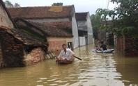 Cận cảnh nước ngập nhà dân ở nơi vỡ đê có kế hoạch