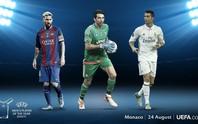 Buffon tranh Cầu thủ xuất sắc nhất châu Âu với Messi và Ronaldo