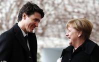 Đến lượt bà Merkel bị Thủ tướng Canada hớp hồn