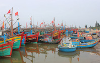 Tàu cá nằm bờ chờ… ngư dân