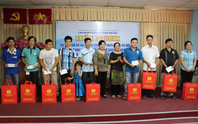 Tưng bừng ngày hội gia đình công nhân dệt may TP HCM