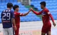 Đức Chinh, Hồng Duy tỏa sáng, U23 thắng đậm Mokpo City