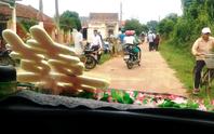 Vụ chặn xe cưới đòi nợ nông thôn mới: Nếu buộc xin lỗi, lãnh đạo thôn từ chức