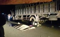 Tông đuôi xe tải, 4 người trong 1 gia đình thương vong