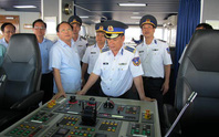 Lãnh đạo TP HCM thăm Bộ Tư lệnh Cảnh sát biển Vùng 3