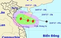 Áp thấp mạnh lên thành bão số 4, mưa to đe dọa miền Trung