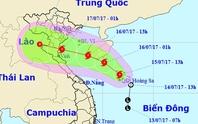 Bão số 2 giật cấp 10 trực chỉ  Nam Định-Hà Tĩnh