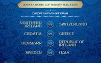 Ý tử chiến với Thụy Điển vì vé dự VCK World Cup 2018