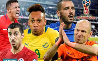 Đội hình siêu khủng nằm nhà xem World Cup 2018