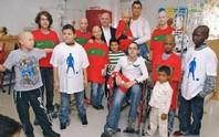 Thiên sứ thiện nguyện Ronaldo xây bệnh viện nhi ở Chile