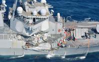 Tàu chiến Mỹ va chạm tàu hàng Philippines, 7 binh sĩ mất tích