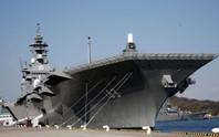 Nhật Bản biến hình tàu sân bay để đón chiến đấu cơ tàng hình?