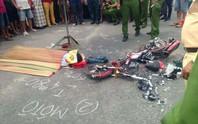 Xe tải tông xe đạp điện, một học sinh chết thảm