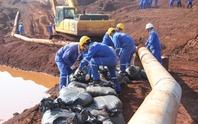 Diễn tập ứng phó sự cố tràn bùn đỏ