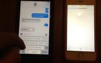 Tin nhắn khiến nhắn tin trên iPhone 'tê liệt'