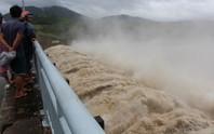 Mưa lớn, Thủy điện Sông Ba Hạ bắt đầu xả lũ