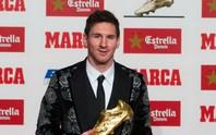 Messi lần thứ 4 đoạt Chiếc giày vàng châu Âu