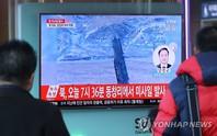 """Triều Tiên lại """"phóng tên lửa đạn đạo"""""""