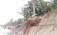 Chùm ảnh: Bờ biển Cửa Đại tan hoang hơn 2 km