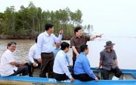 Phó Thủ tướng thị sát 240 km sạt lở, mất 500ha đất/năm ở ĐBSCL