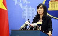 Phản đối Trung Quốc tuyên bố huấn luyện bắn đạn thật tại Hoàng Sa