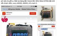 Máy ảnh đột tử vì đèn laser trên sân khấu Hardwell ở Hà Nội
