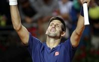 Djokovic chạy marathon vào chung kết Rome Open