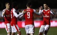 Thắng hạt tiêu Sutton, Arsenal vào tứ kết FA Cup