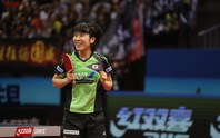 Hirano xô ngã 3 tượng đài bóng bàn Trung Quốc