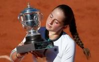 Tay vợt tuổi teen Ostapenko đăng quang Roland Garros