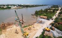 Sạt lở bờ sông Sài Gòn đang rất phức tạp