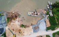 Nửa đêm, bờ sông Sài Gòn bỗng dưng mất 1.250 m2