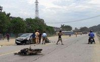 Chạy ngược chiều, người đi xe máy bị ô tô tông tử vong