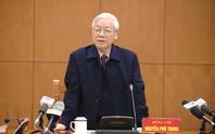 Tổng Bí thư lần đầu dự, chỉ đạo Hội nghị Chính phủ