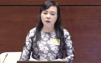 Bộ trưởng Y tế Nguyễn Thị Kim Tiến đăng đàn trả lời chất vấn