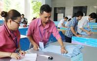 Công nhân dệt may TP HCM thi tay nghề