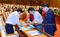 Kiểm phiếu tín nhiệm của 48 chức danh được Quốc hội bầu và phê chuẩn