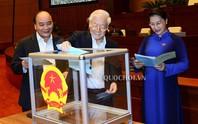 Công bố kết quả lấy phiếu tín nhiệm với 48 người được Quốc hội bầu và phê chuẩn