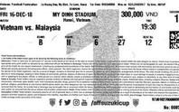 AFF Cup 2018: Vé trận gặp Malaysia đắt hơn vé trận Campuchia