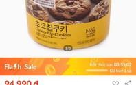 Quảng cáo Flash sale, Lazada bán bánh quy giá trên trời?!