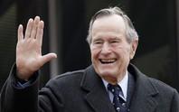 """Những cột mốc đáng nhớ trong cuộc đời ông Bush """"cha"""""""