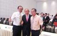 HLV Park Hang-seo cùng bầu Đức, bầu Thắng đến Chu Lai