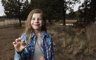 Bé 7 tuổi khai quật được hóa thạch 65 triệu năm