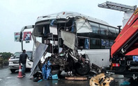 (Video) - Mô phỏng vụ tai nạn giữa xe cứu hỏa và xe khách