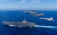 Cán bộ Việt Nam đã ra thăm tàu sân bay Mỹ từ năm 2009